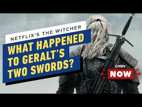 Netflix's The Witcher: Why Geralt Doesn't Have 2 Swords in 1st Photos - IGN Now