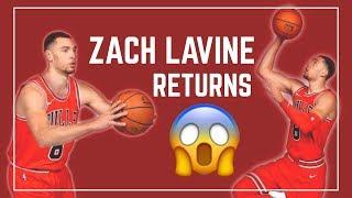 ZACH LAVINE RETURNS !!! – NBA Reaction