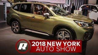 2019 Subaru Forester has more tech, less turbo - NY Auto Show 2018 thumbnail