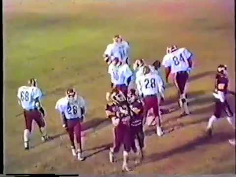 1988 Stilwell Indians at Cleveland Tigers Football (2nd Roun