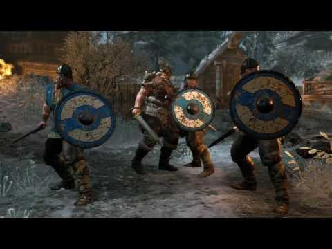 For Honor -  All Boss Fights + (All Endings)
