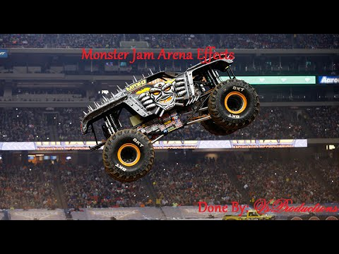 Monster Jam Arena Effects: Max D