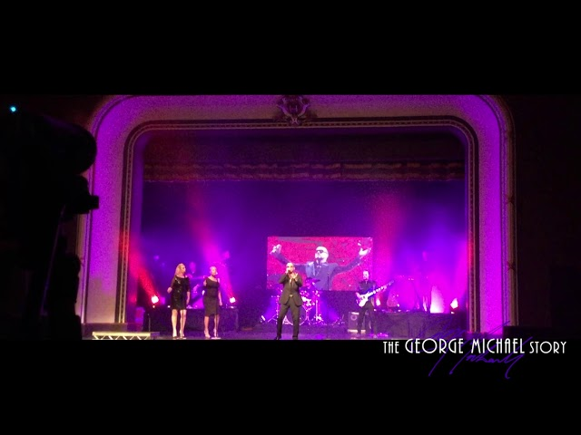 The George Michael Story - Father Figure - LIVE. The only truly accurate tribute to George Michael.