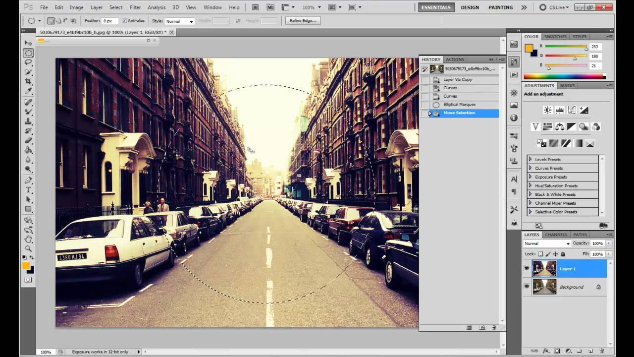 how to create stitches in photoshop cs5