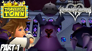 Kingdom Hearts Re: Chain of Memories Gameplay Walkthrough Part 1 - Traverse Town - PS3