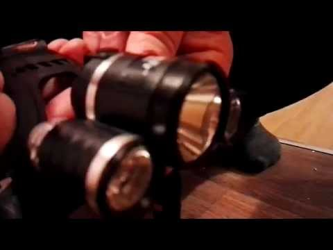 Stirnkamera: LED-Outdoor-Stirnlampe mit Full-HD-Kamera 3 W Kopfkamera IP44