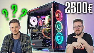ANFÄNGER baut 2500 Euro High End MONSTER PC