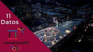 11 Datos sobre los JJOO PyeongChang 2018