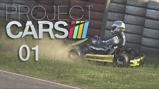 Project Cars #01 🏎 - Holpriger Karrierestart  [deutsch]