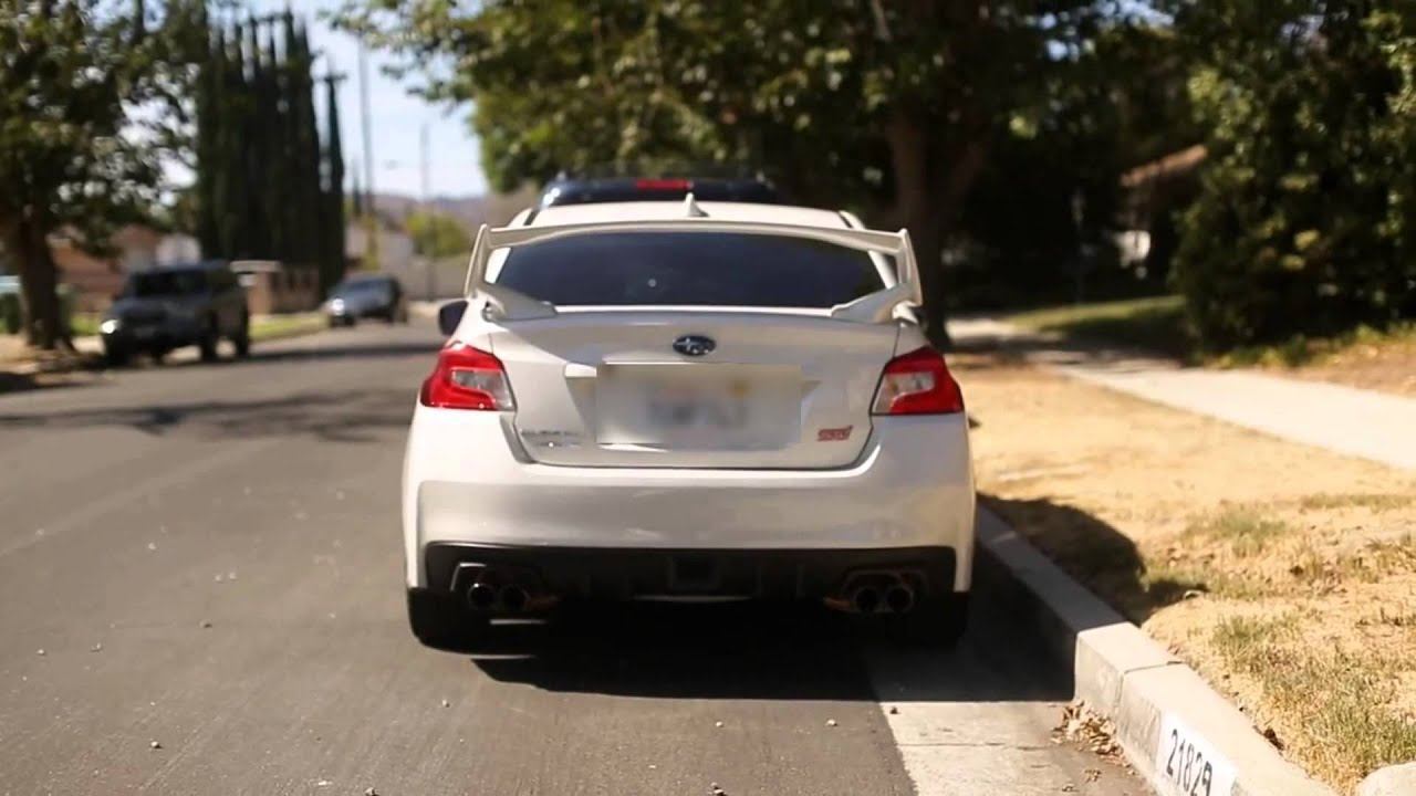2015 Subaru Wrx Exhaust >> 2015 WRX STI Tomei ExpremeTi Comparison to Stock Exhaust ...