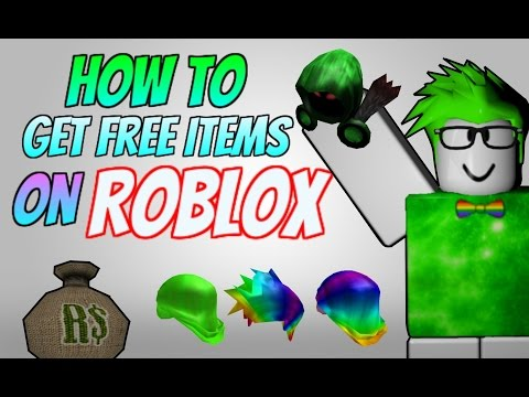 ROBLOX | HOW TO GET FREE ITEMS ON THE CATALOG (March 2017)