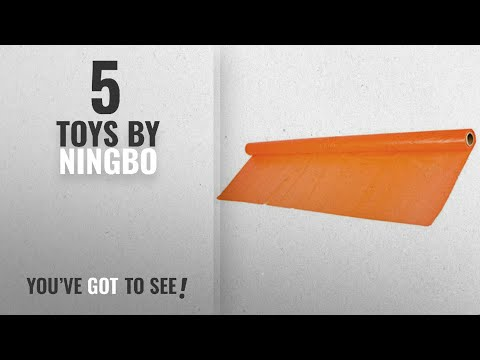 "Top 10 Ningbo Toys [2018]: Polyvinyl 40""in x 100'ft Banquet and Picnic Table Rolls - ORANGE by"