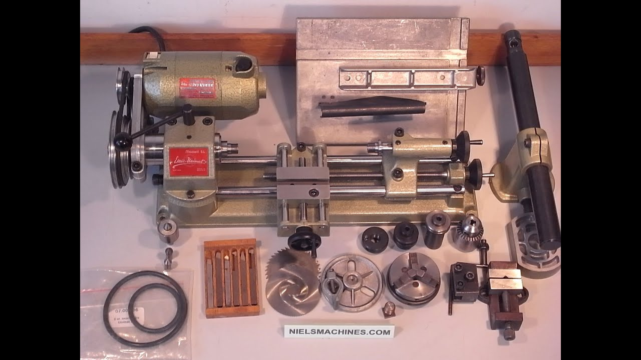 Emco Unimat Sl Lathe Collection Doovi