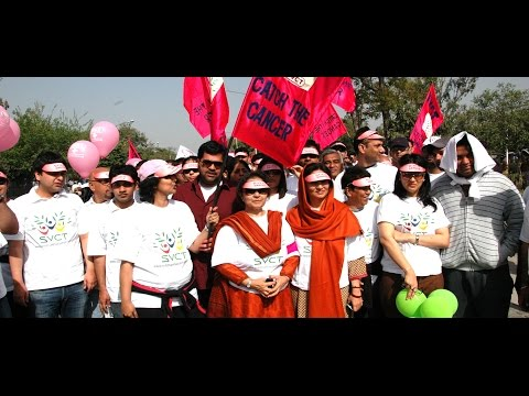 Cancer Awareness Walk: SVCT Chairperson and Dr Prachi Setty addresses media