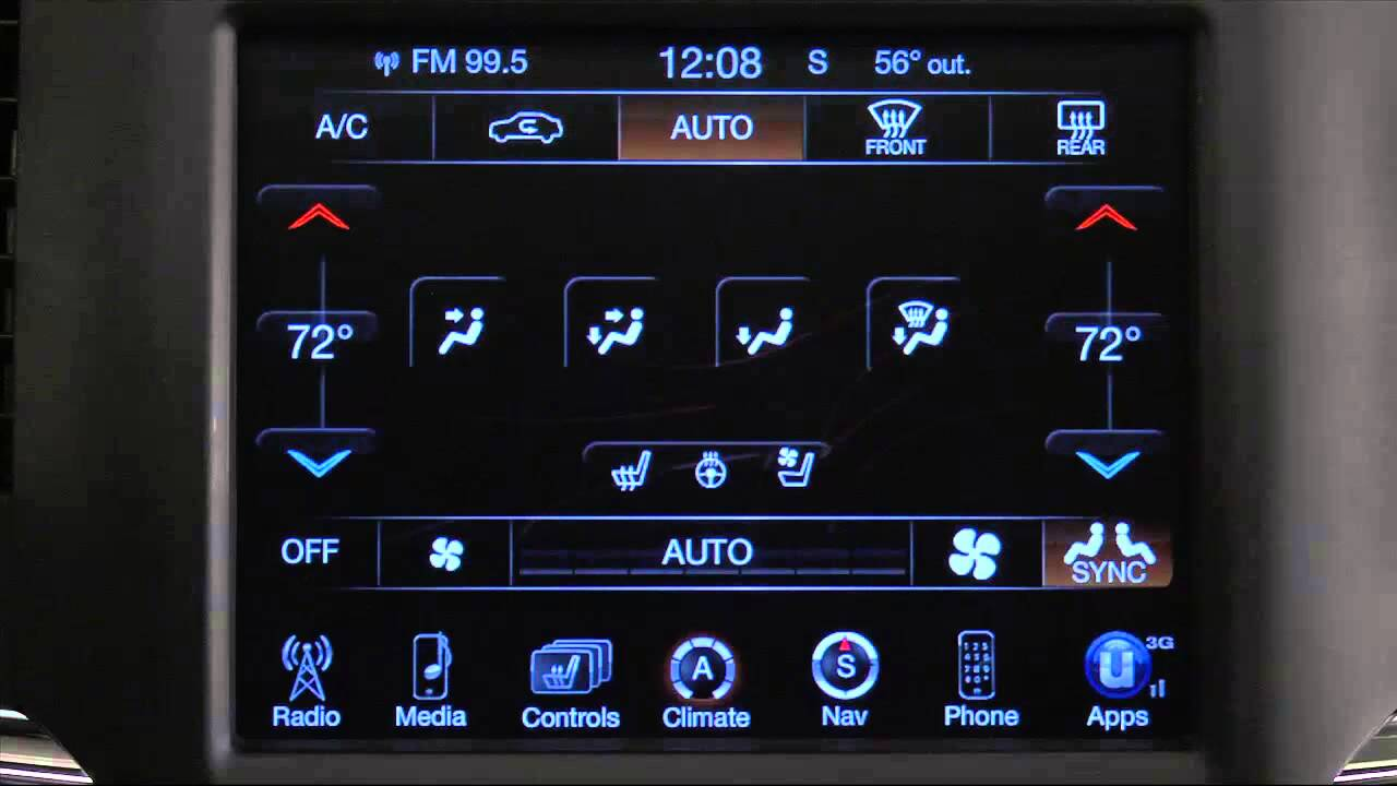 2014 Ram Truck Automatic Climate Controls Youtube