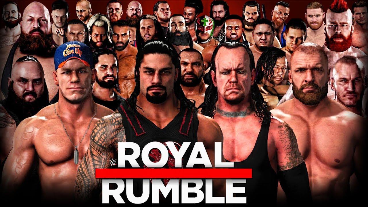 Wrestling Royal Rumble