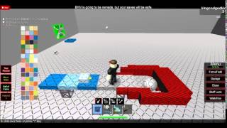 BUILDING A MECH IN BUILD A MECH ROBLOX