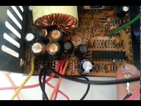 Carregador de bateria automotiva 13.8 com fonte de computador. Muito fácil!