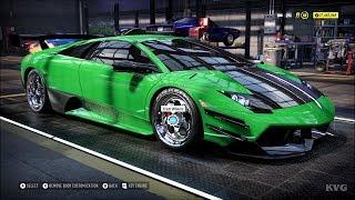 Need for Speed Heat - Lamborghini Murcielago SV 2010 - Customize   Tuning Car HD