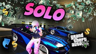 *BRAND NEW*SOLO MONEY GLITCH*EASY CAR DUPLICATION GLITCH*No Deluxo*SOLO Money GTA 5 ONLINE 1.44