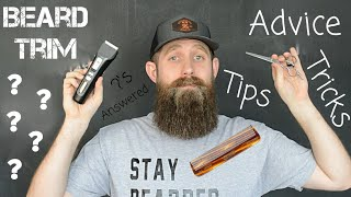 Beard Trim BEST Tips & Advice!