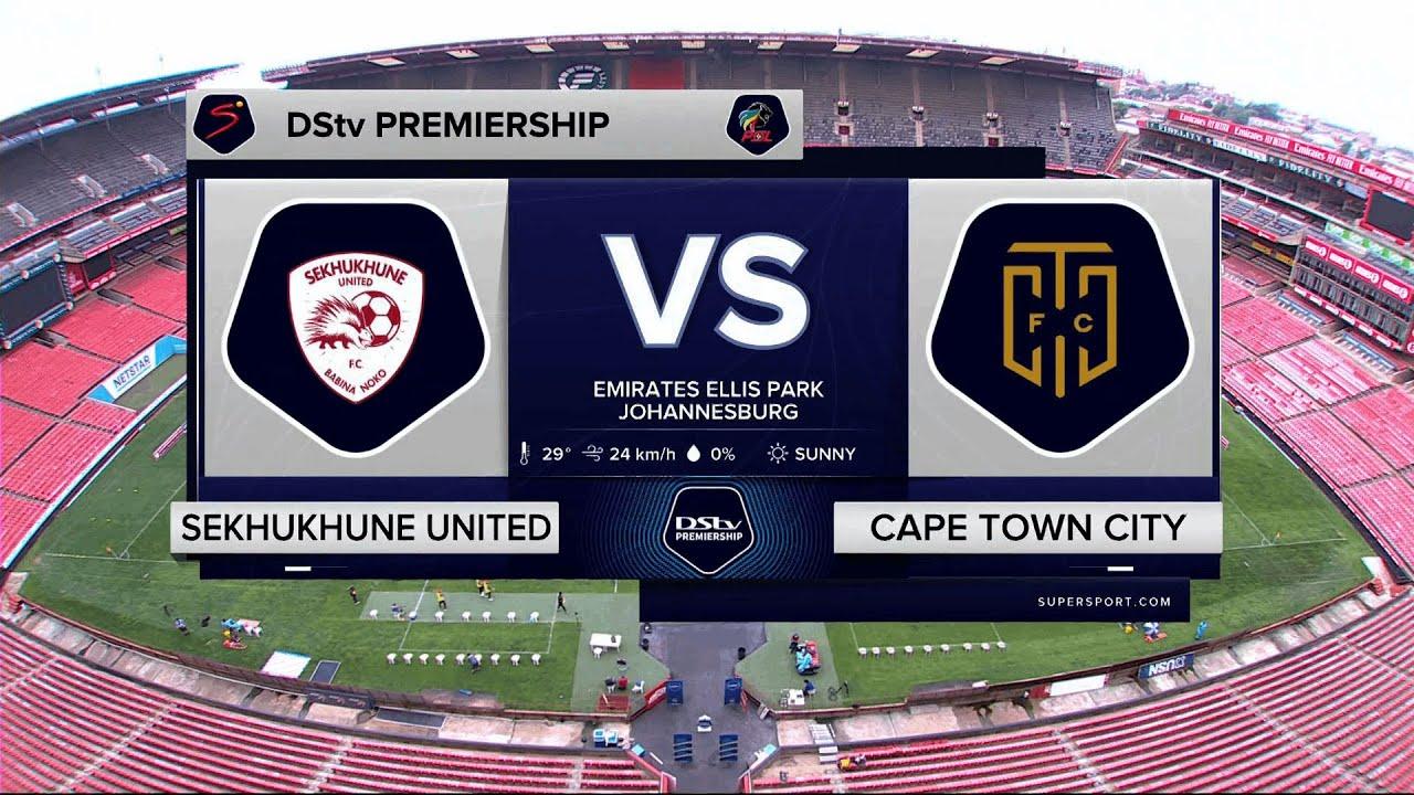 Download DStv Premiership   Sekhukhune v CT City   Highlights