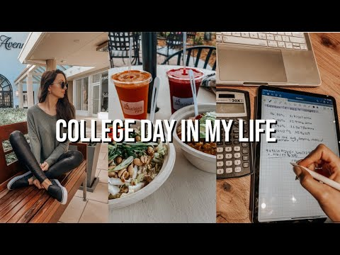 COLLEGE DAY IN MY LIFE: chemistry, raw juice, massage, lab notebook