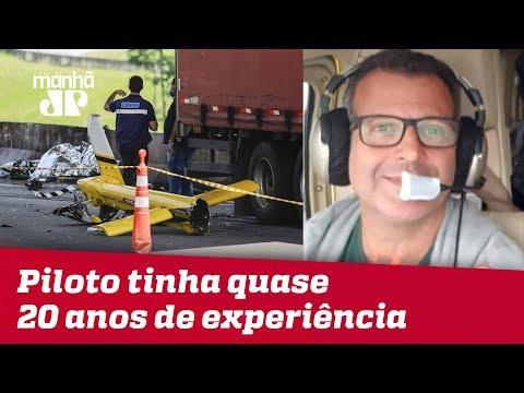 Piloto de helicóptero que levava Boechat, Ronaldo Quattrucci morre aos 56 anos