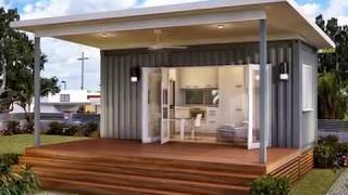 Tiny Houses Made From Shipping Containers