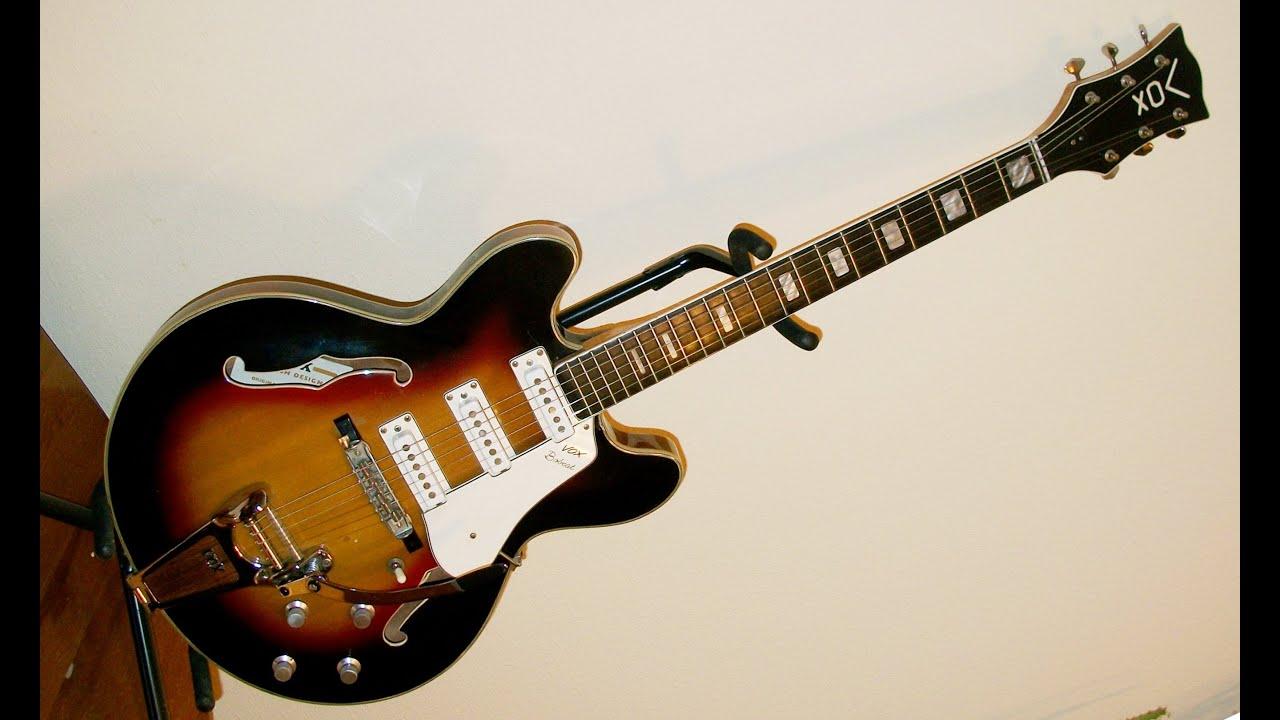 vox bobcat vintage guitar for sale youtube. Black Bedroom Furniture Sets. Home Design Ideas