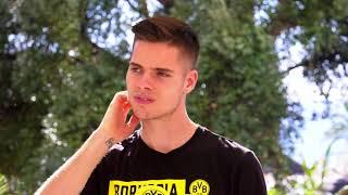 BVB-Medienrunde mit Julian Weigl in Marbella