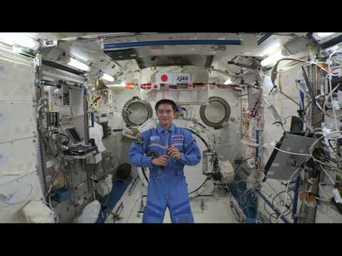 Space Station Crew Member Discusses Life in Space with Japanese Students