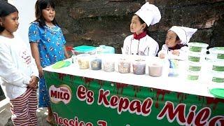 What If Jessica Jenica Jadi Penjual Es Kepal Milo 💖 Es Viral dari Malaysia