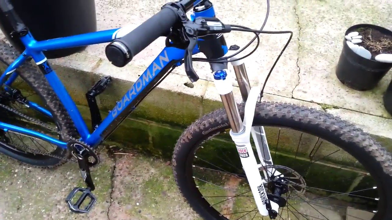7c77f52d6f3 Boardman team 2016 independent mountain bike review part 2 - YouTube
