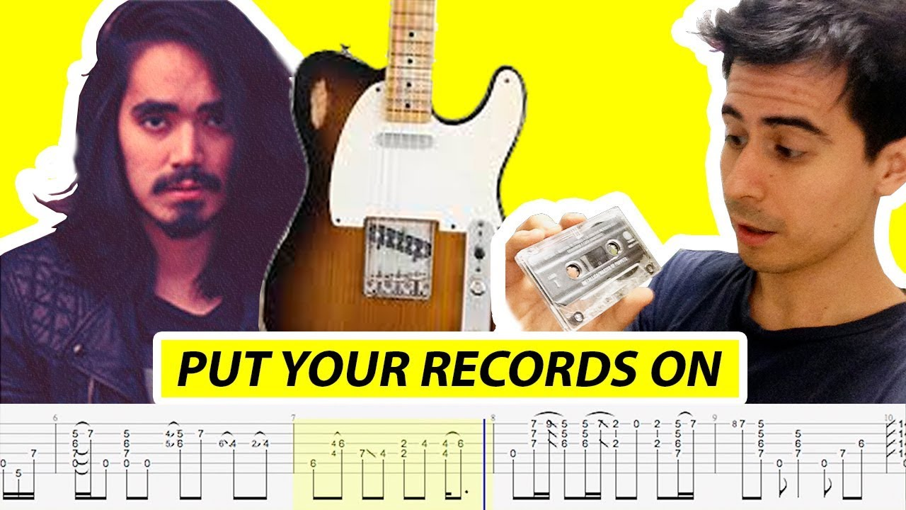 Mateus Asato Put Your Records On With Tabs By Riffhero