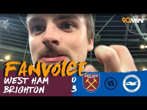 Murray scores twice as Brighton destroy West Ham! | West Ham 0-3 Brighton | 90min FanVoice