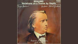 Variations On A Theme By Joseph Haydn In B Flat Major Op 56a Változatok Egy Haydn Témára