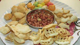 Oil free chips, snacks recipe/Roasted snacks recipe/Roasted peanuts recipe/Zero oil snacks recipe