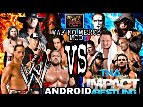 WWF NO MERCY NEW MOD WWE VS TNA FOREVER FOR ANDROID WITH DOWNLOAD LINK