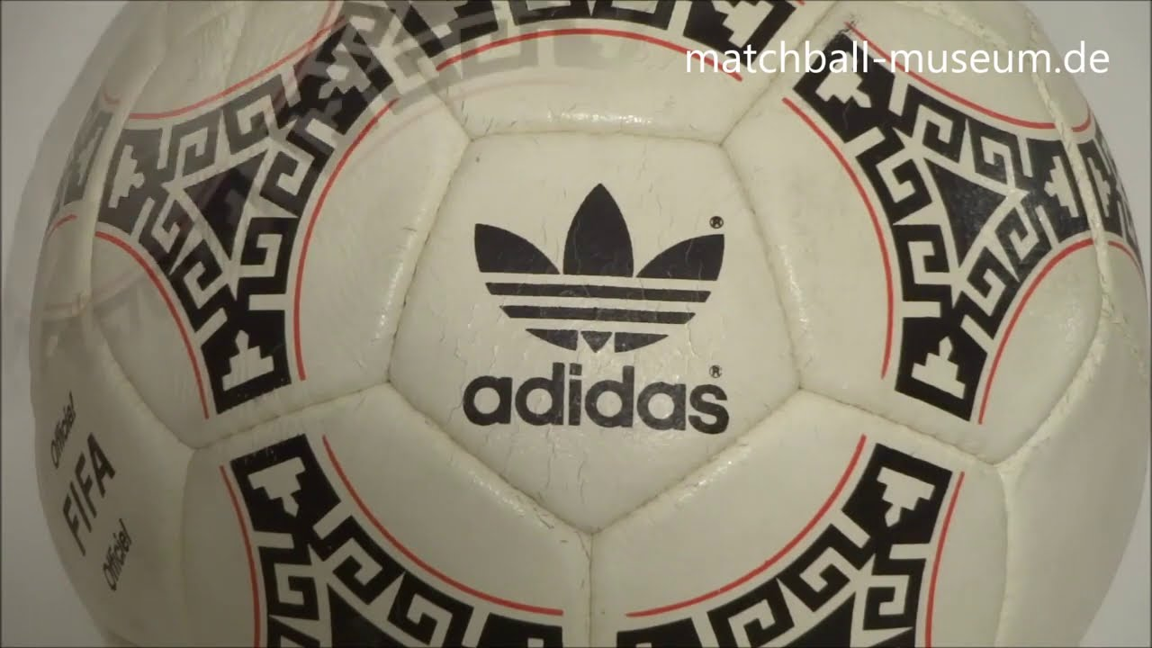 Levántate violación carbón  1986 world cup adidas azteca acapulco official match ball - YouTube