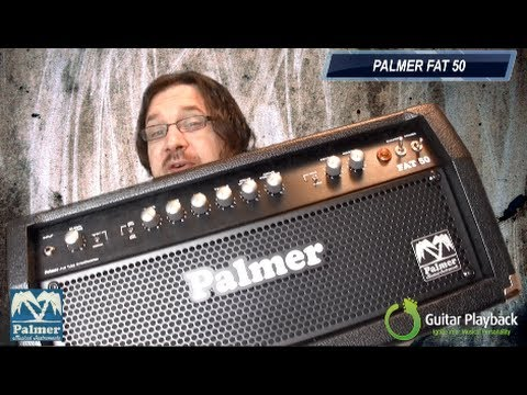 Guitar Playback and Palmer Melodic Backing Track Challenge