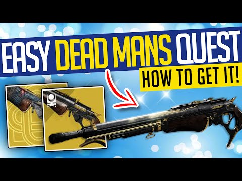 Destiny 2   EASY DEAD MAN'S TALE! How To Start, Full Mission & Random Rolls! Season of the Chosen
