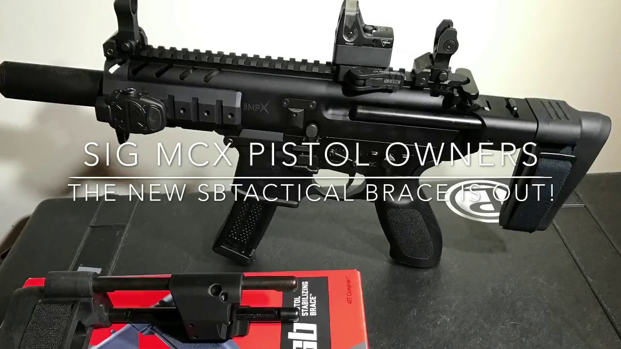 SBTactical has Sig MPX & MCX owners wanting to brace themselves!