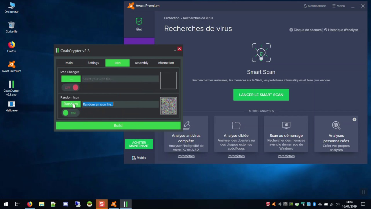 avast free ou windows defender