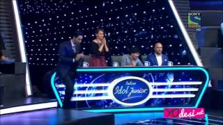 Indian Idol Junior 2015: Jannat - Zara Sa cover by Nahid Must watch