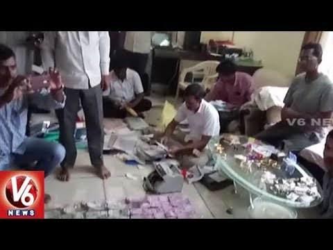ACB Raids On AP Town And Country Planning Officer House   V6 News