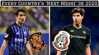 The 'Next Messi' From EVERY Country: Where Are They Now?
