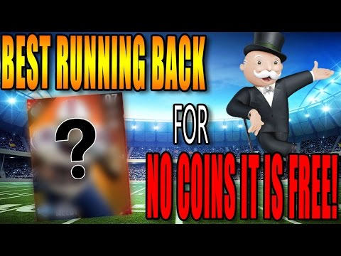 BEST RUNNING BACK IN THE GAME FOR ZERO COINS! OVER 200 TOTAL YARDS! MADDEN 17 ULTIMATE TEAM GAMEPLAY