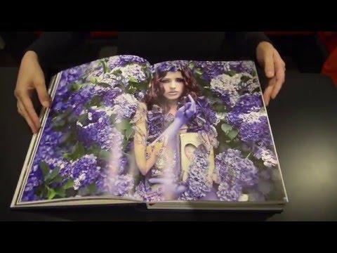 Unboxing Kirsty Mitchell's Wonderland book