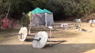 リトルワールド ミクロネシア ヤップ島の家 石貨 カヌー ヤップ島 検索動画 35